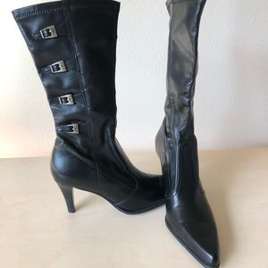 """Franco Sarto Shoes - Franco Sarto 3"""" heel pull on Bootie sz 6"""